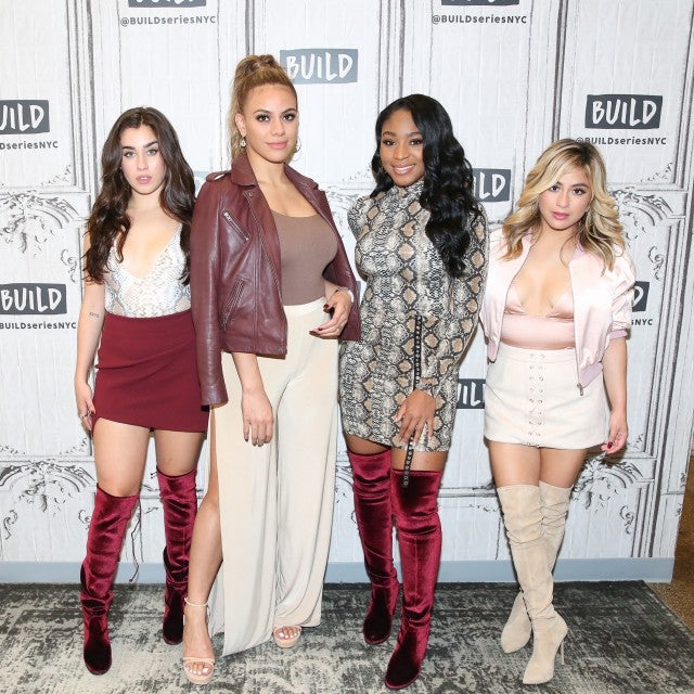 Fifth Harmony at AOL Build