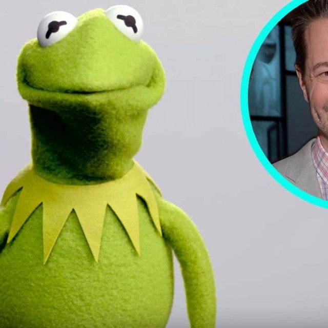 Kermit the Frog and Voice Actor Matt Vogel