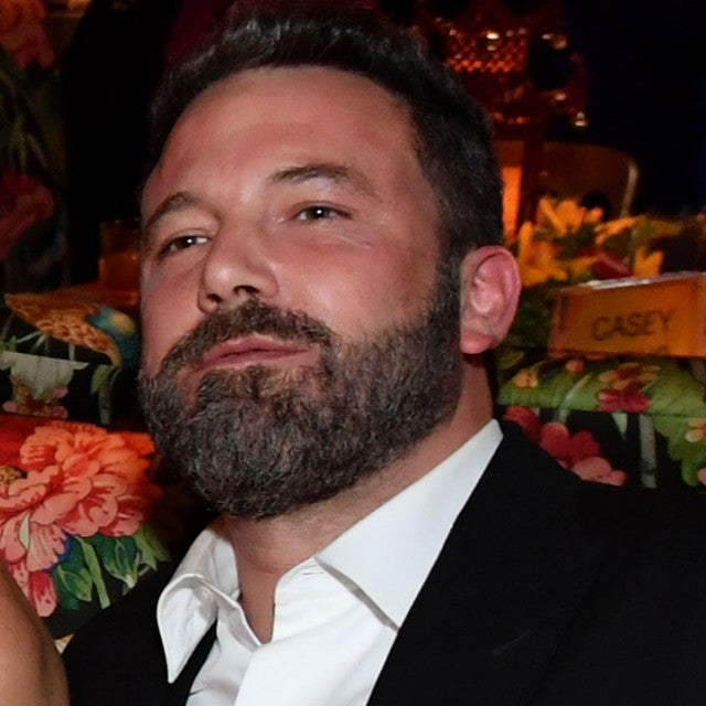 Ben Affleck and Lindsay Shookus Emmys after-party