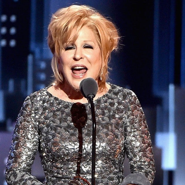 Bette Midler at Tony Awards