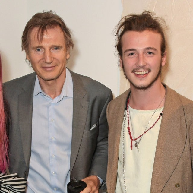 Liam Neeson and Son Michael