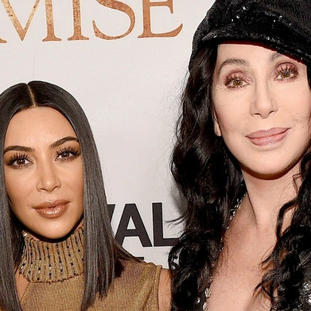 Kim Kardashian and Cher The Promise red carpet