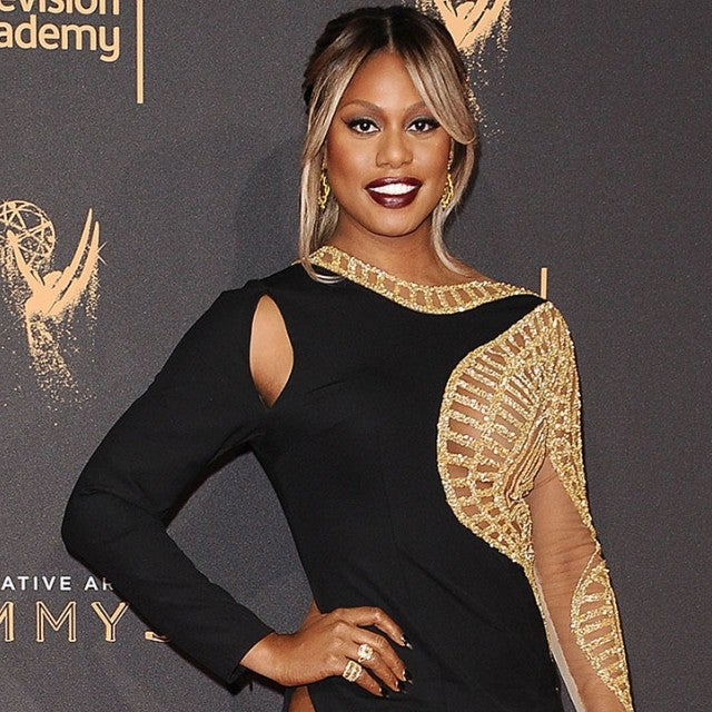 Laverne Cox at the Creative Arts Emmys