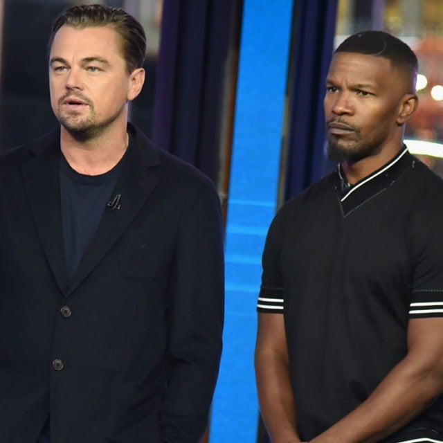 Leonardo DiCaprio and Jamie Foxx at Telethon