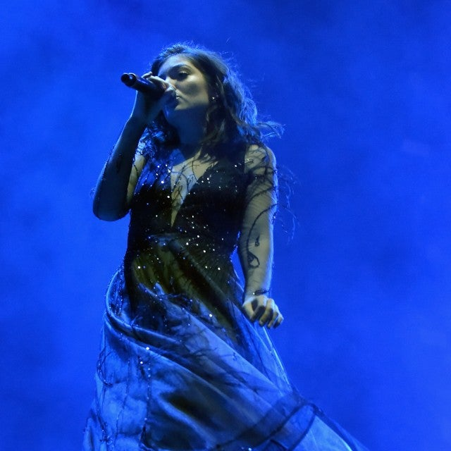 Lorde at Life Is Beautiful festival