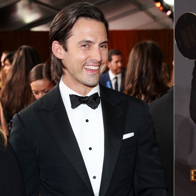 Milo Ventimiglia and Sterling K Brown at the Emmys