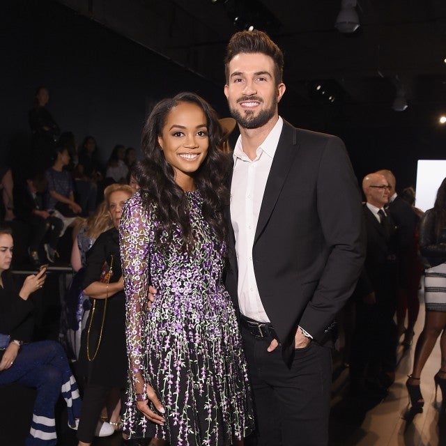 Rachel Lindsay and Bryan Abasolo at NYFW