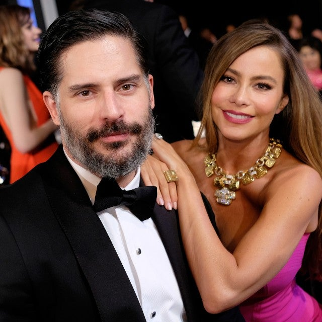 Sofia Vergara and Joe Manganiello 2016 SAG