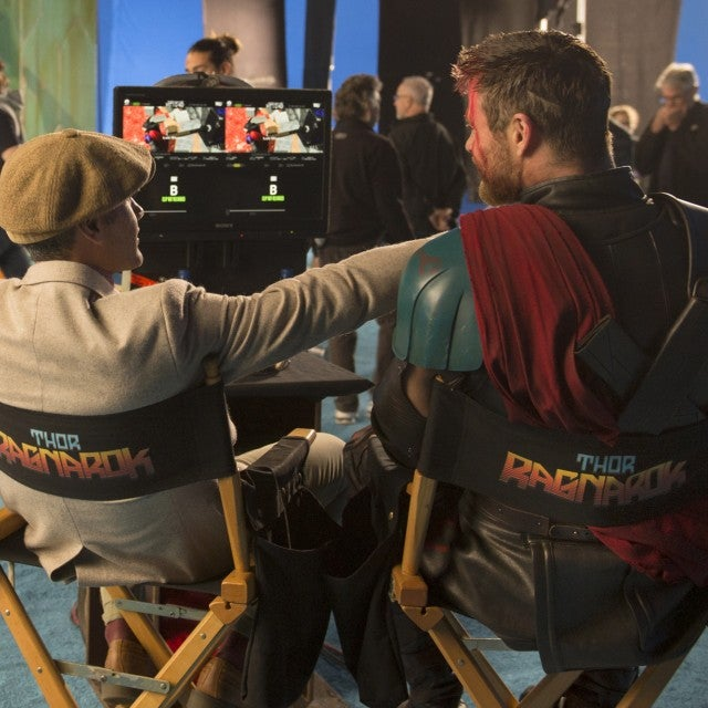 Taika Waititi, Chris Hemsworth 'Thor: Ragnarok'