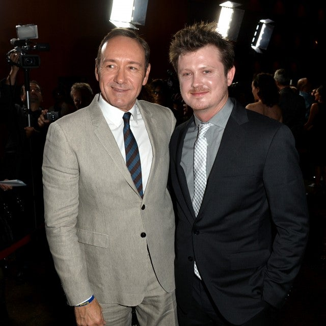 Kevin Spacey with 'House of Cards' creator Beau Willimon