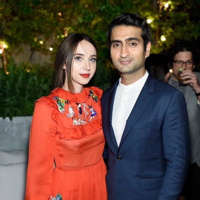 Kumail Nanjiani and Zoe Kazan at 'The Big Sick' NYC premiere