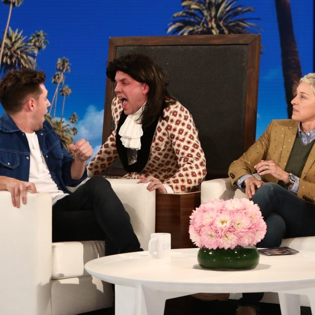 Niall Horan gets scared by 'Harry Styles' on 'The Ellen DeGeneres Show'