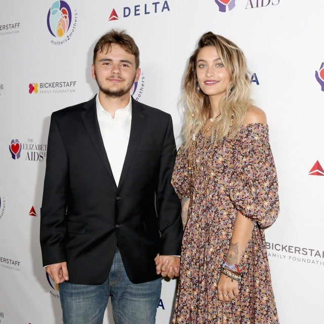 Paris and Prince Jackson at Benefit in LA