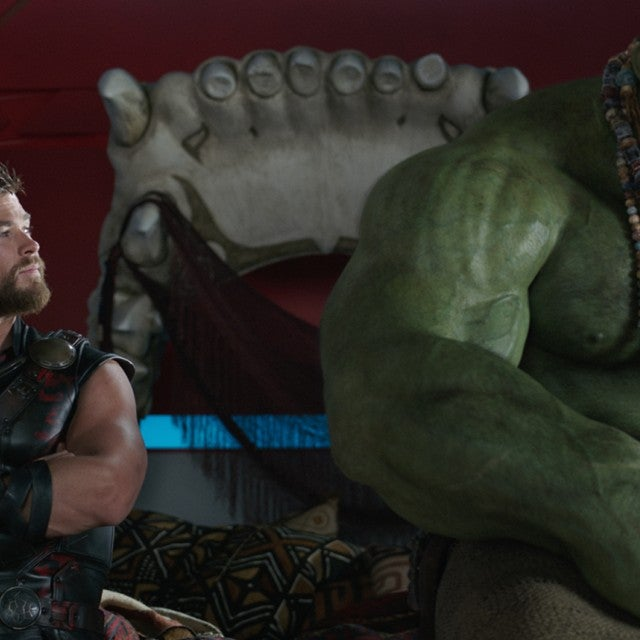 Chris Hemsworth, Mark Ruffalo in Thor: Ragnarok