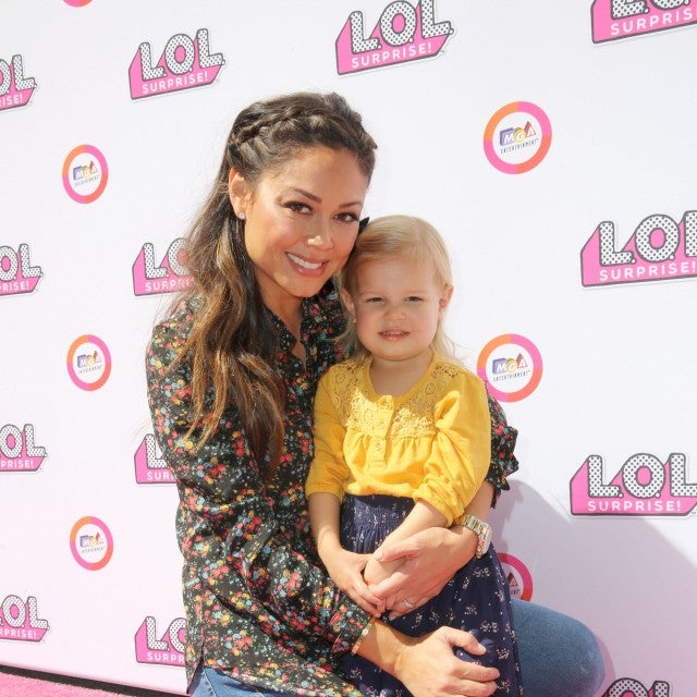 Vanessa Lachey and daughter Brooklyn