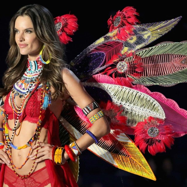 Alessandra Ambrosio walks the runway at the 2017 Victoria's Secret Fashion Show in Shanghai, China