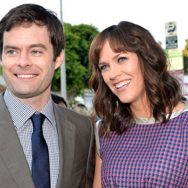 Bill Hader and Maggie Carey