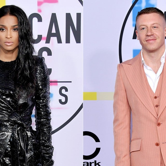 Ciara and Macklemore hang out
