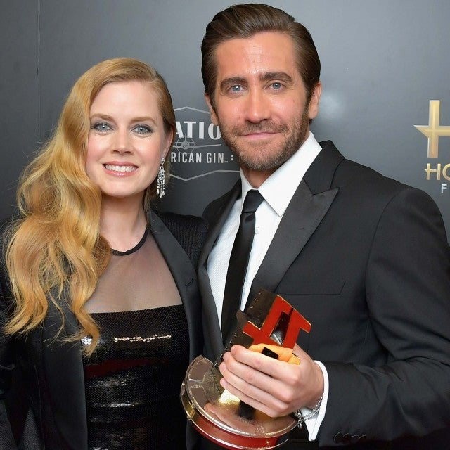 Amy Adams and Jake Gyllenhaal at the 2017 Hollywood Film Awards