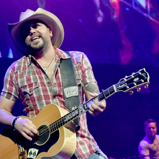 Jason Aldean at the Country Rising Fund concert