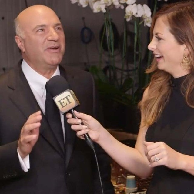 Shark Tank star Kevin O'Leary on ET's Let's Get Crafty