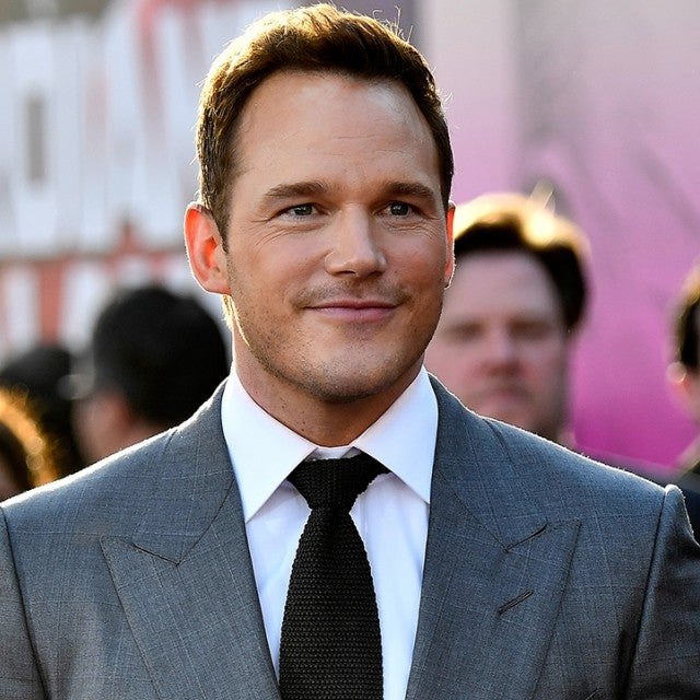 Chris Pratt Guardians of the Galaxy 2 Premiere