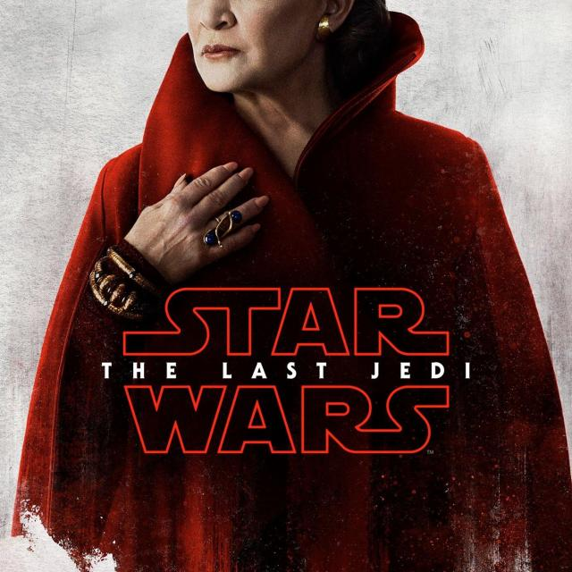 Carrie Fisher, Star Wars: The Last Jedi