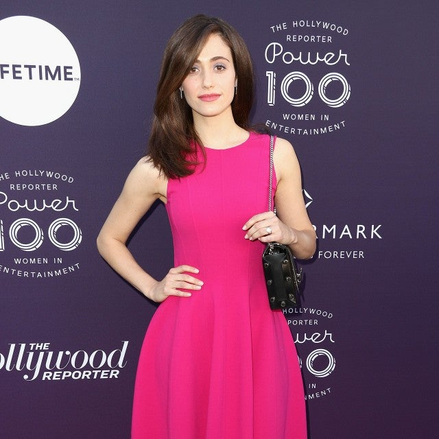 Emmy Rossum at The Hollywood Reporter's 2017 Women In Entertainment Breakfast