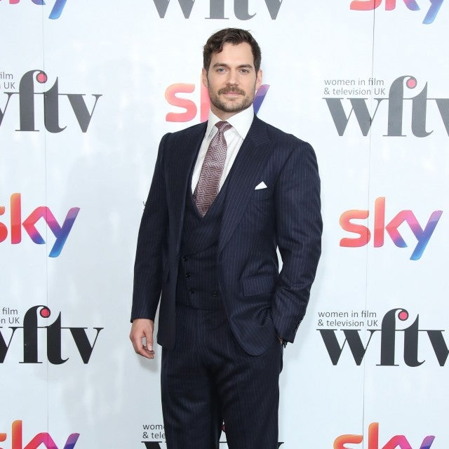 Henry Cavill at Sky Awards