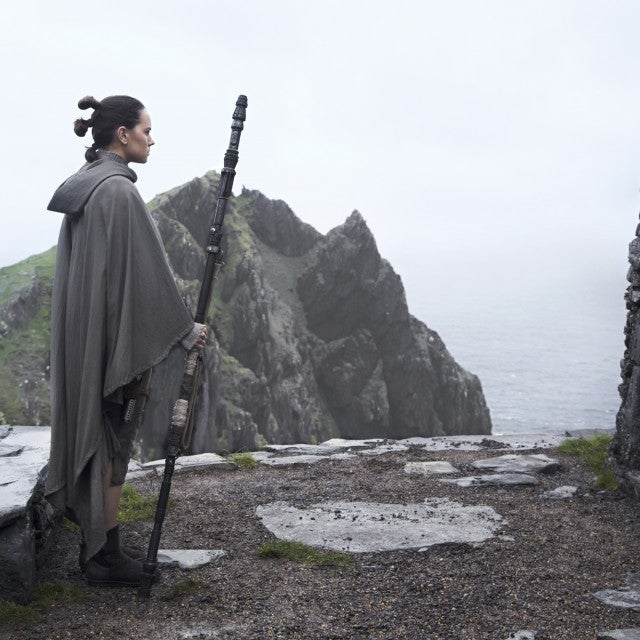 Daisy Ridley, Mark Hamill, Star Wars: The Last Jedi