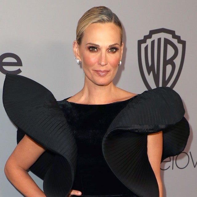 Molly Sims at InStyle party
