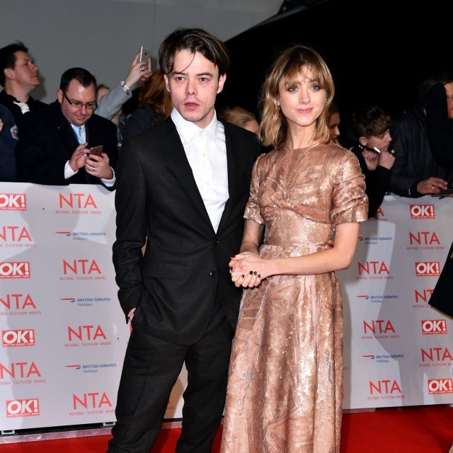 Charlie Heaton and Natalia Dyer National Television Awards 2018