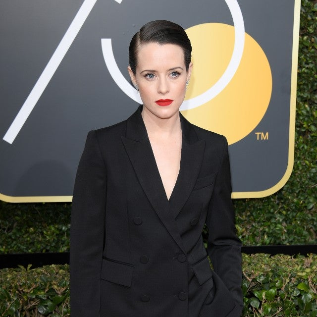 Claire Foy Golden Globes 2018