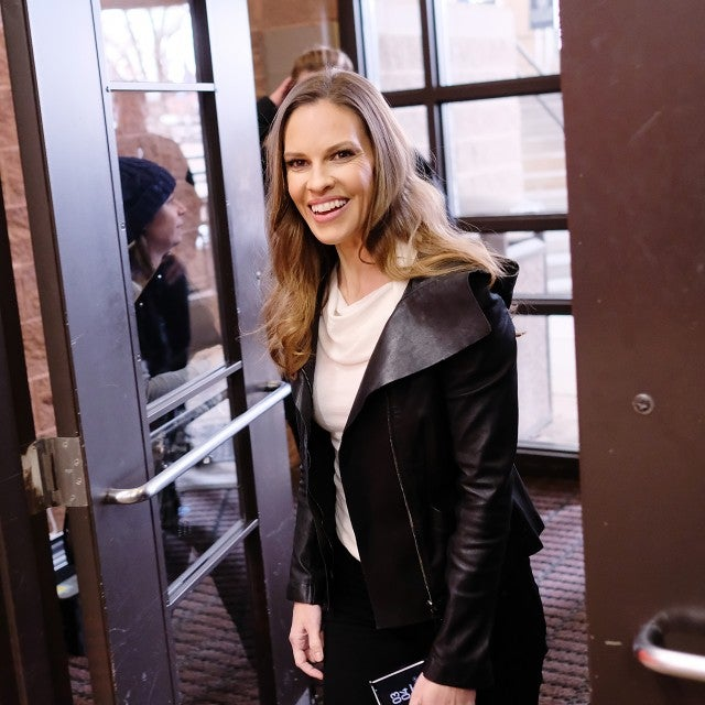 Hilary Swank at 2018 Sundance