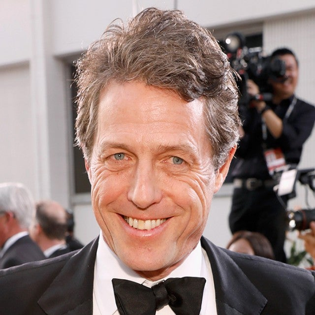 Hugh Grant at the Golden Globes