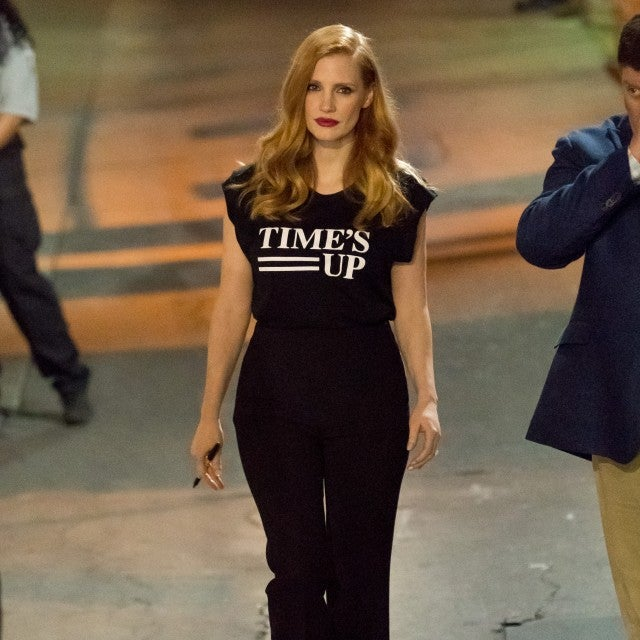 Jessica Chastain Times Up Shirt