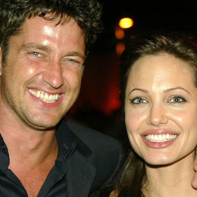Angelina Jolie and Gerard Butler