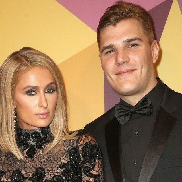 Paris Hilton and Chris Zylka