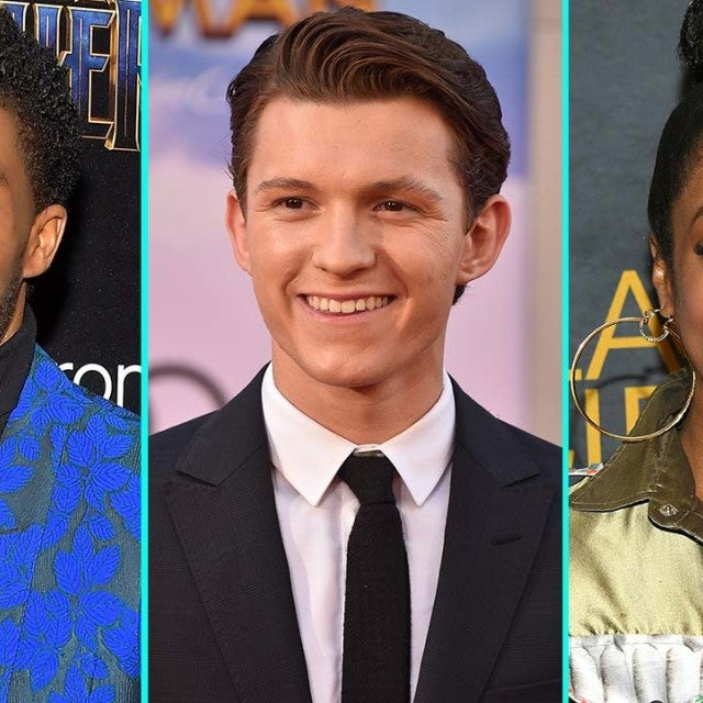 Chadwick Boseman, Tom Holland and Tiffany Haddish