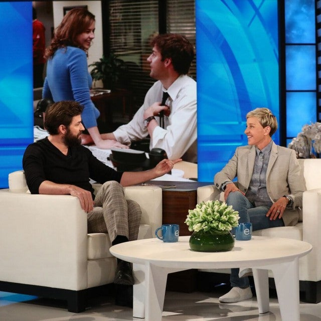 John Krasinski appears on 'The Ellen DeGeneres Show'