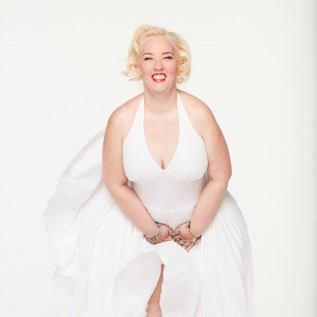 Mama June channels Marilyn Monroe.