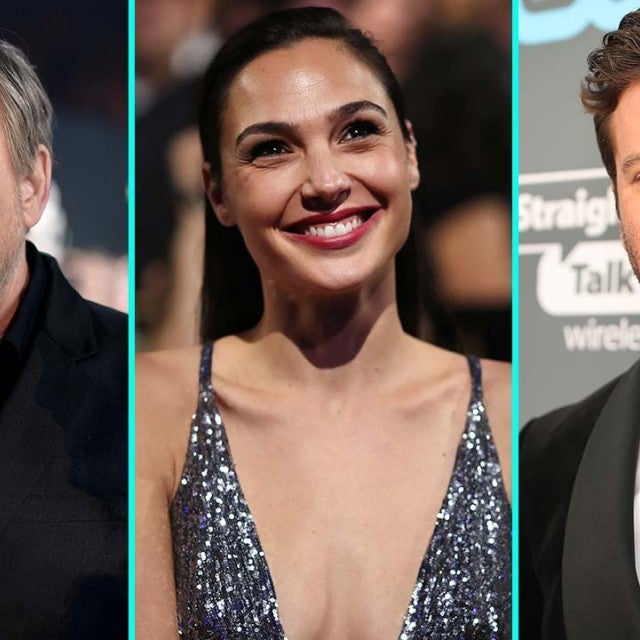 Mark Hamill, Gal Gadot and Armie Hammer