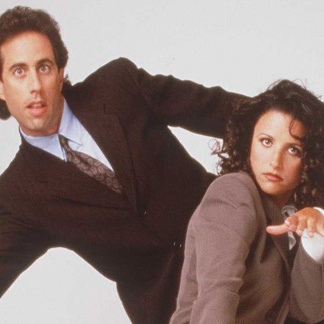 Jerry Seinfeld and Julia Louis-Drefyus from 'Seinfeld'