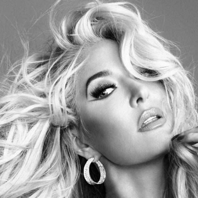 Erika Jayne on the book jacket of her new memoir, 'Pretty Mess.'