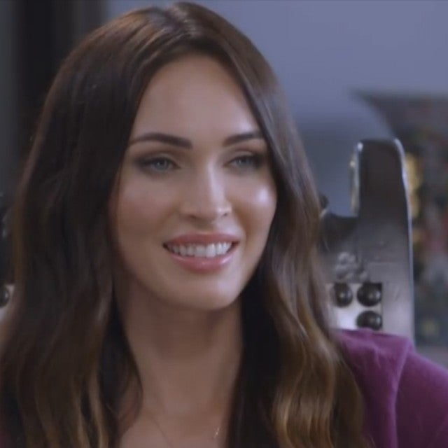 megan fox exclusive interviews pictures more entertainment tonight. Black Bedroom Furniture Sets. Home Design Ideas