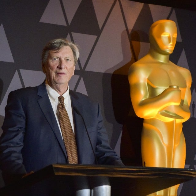 Academy President John Bailey speaks onstage portrait at The Oscars Foreign Language Film Award Directors Reception at the Academy of Motion Picture Arts and Sciences on March 2, 2018 in Beverly Hills, California