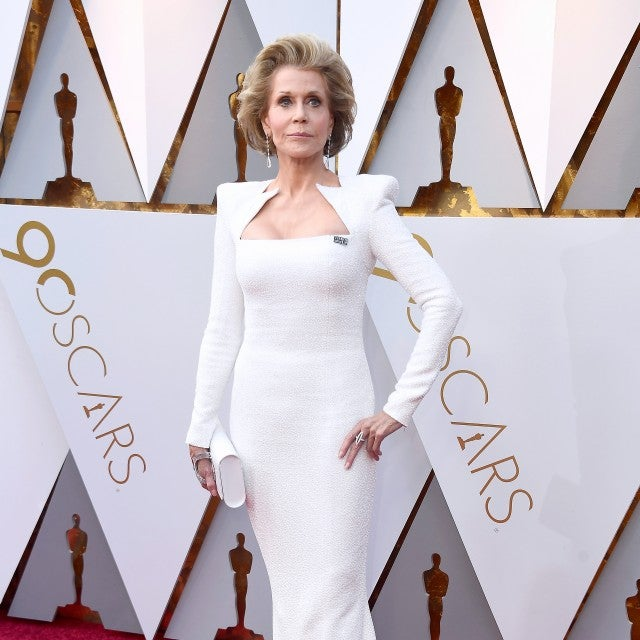 Jane Fonda at 2018 Oscars