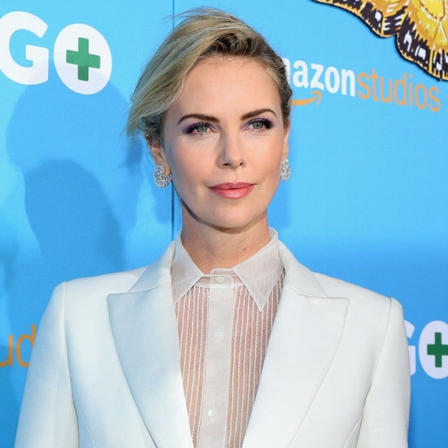 Charlize Theron at Gringo premiere
