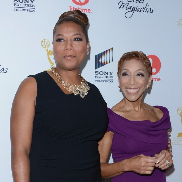 Queen Latifah and Mom Rita Owens