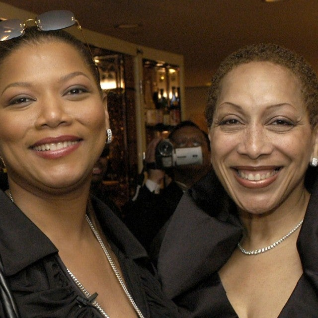 Queen Latifah and Rita Owens